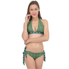 Wannaska Tie It Up Bikini Set