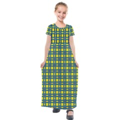 Wannaska Kids  Short Sleeve Maxi Dress