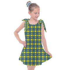 Wannaska Kids  Tie Up Tunic Dress