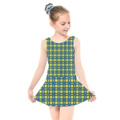 Wannaska Kids  Skater Dress Swimsuit