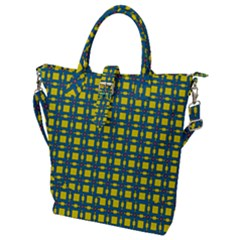 Wannaska Buckle Top Tote Bag