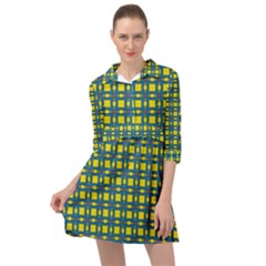 Wannaska Mini Skater Shirt Dress