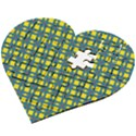 Wannaska Wooden Puzzle Heart View2