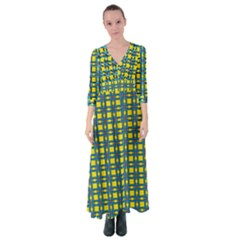 Wannaska Button Up Maxi Dress