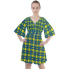 Wannaska Boho Button Up Dress