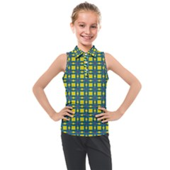 Wannaska Kids  Sleeveless Polo Tee