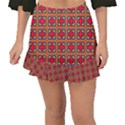 Ambrose Fishtail Mini Chiffon Skirt View1