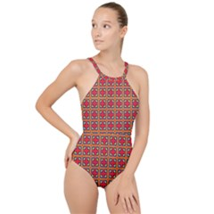 Ambrose High Neck One Piece Swimsuit