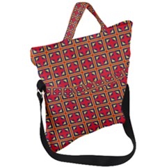 Ambrose Fold Over Handle Tote Bag by deformigo