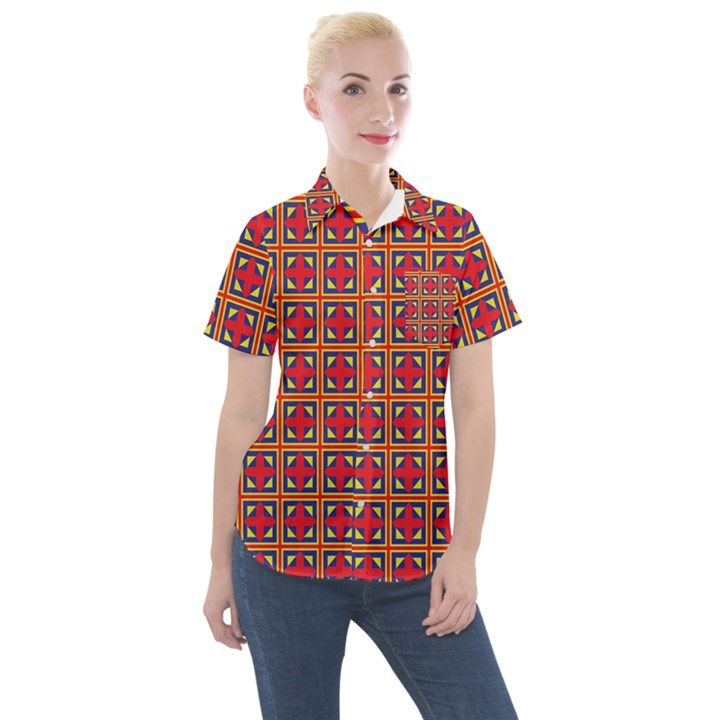 Ambrose Women s Short Sleeve Pocket Shirt