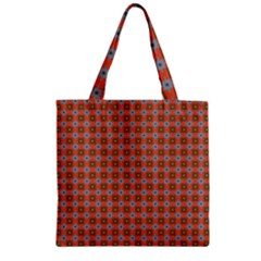 Persia Zipper Grocery Tote Bag