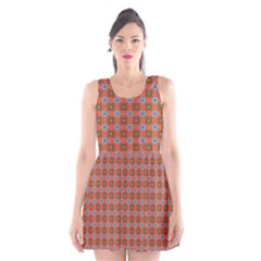 Persia Scoop Neck Skater Dress