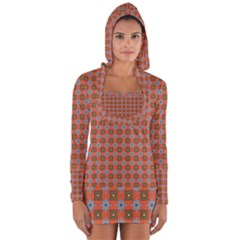 Persia Long Sleeve Hooded T-shirt