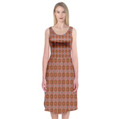 Persia Midi Sleeveless Dress