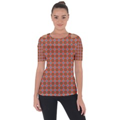 Persia Shoulder Cut Out Short Sleeve Top