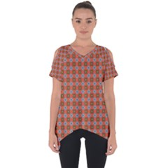 Persia Cut Out Side Drop Tee