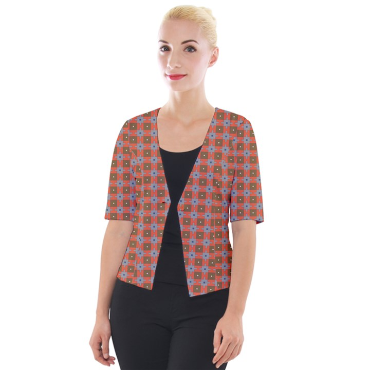 Persia Cropped Button Cardigan