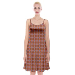 Persia Spaghetti Strap Velvet Dress