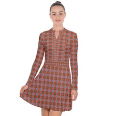 Persia Long Sleeve Panel Dress