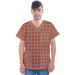 Persia Men s V Neck Scrub Top