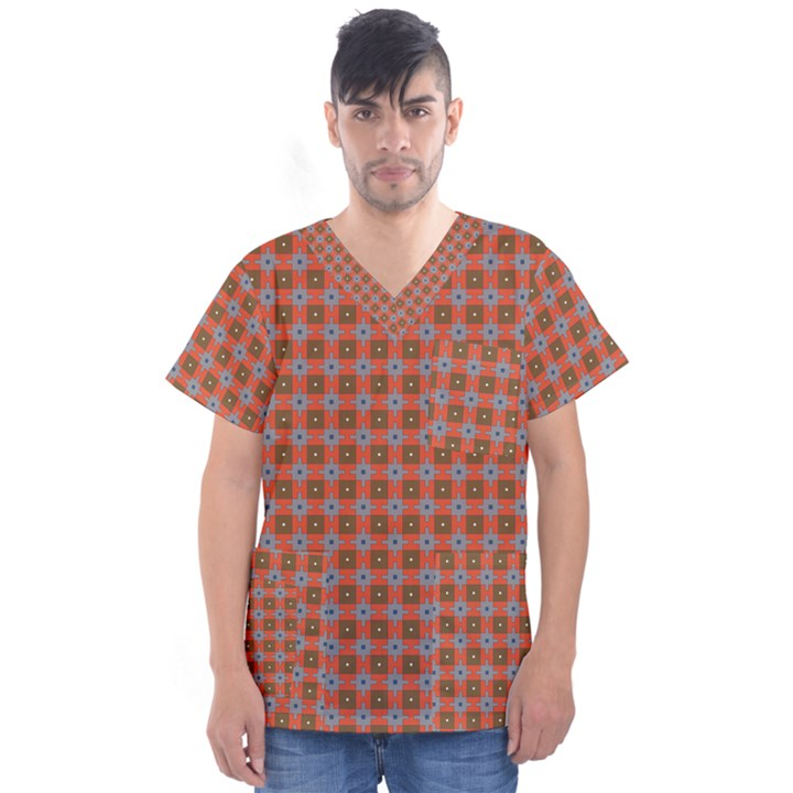 Persia Men s V-Neck Scrub Top