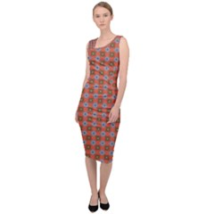 Persia Sleeveless Pencil Dress