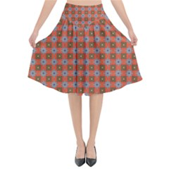 Persia Flared Midi Skirt