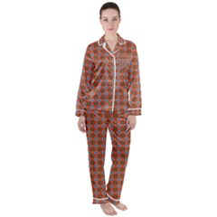 Persia Satin Long Sleeve Pyjamas Set