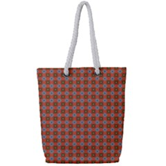 Persia Full Print Rope Handle Tote (Small)