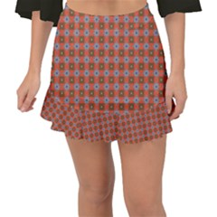 Persia Fishtail Mini Chiffon Skirt