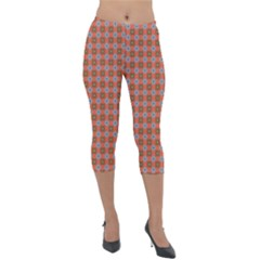 Persia Lightweight Velour Capri Leggings