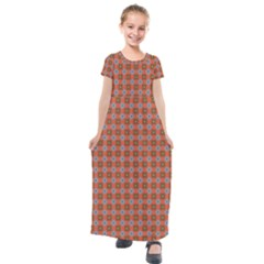 Persia Kids  Short Sleeve Maxi Dress
