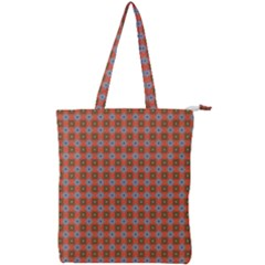 Persia Double Zip Up Tote Bag