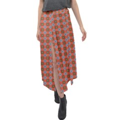Persia Velour Split Maxi Skirt