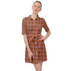 Persia Belted Shirt Dress