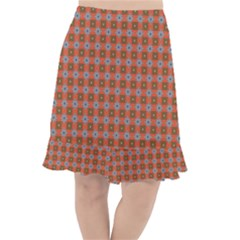 Persia Fishtail Chiffon Skirt