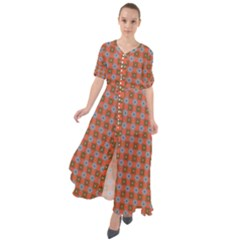 Persia Waist Tie Boho Maxi Dress
