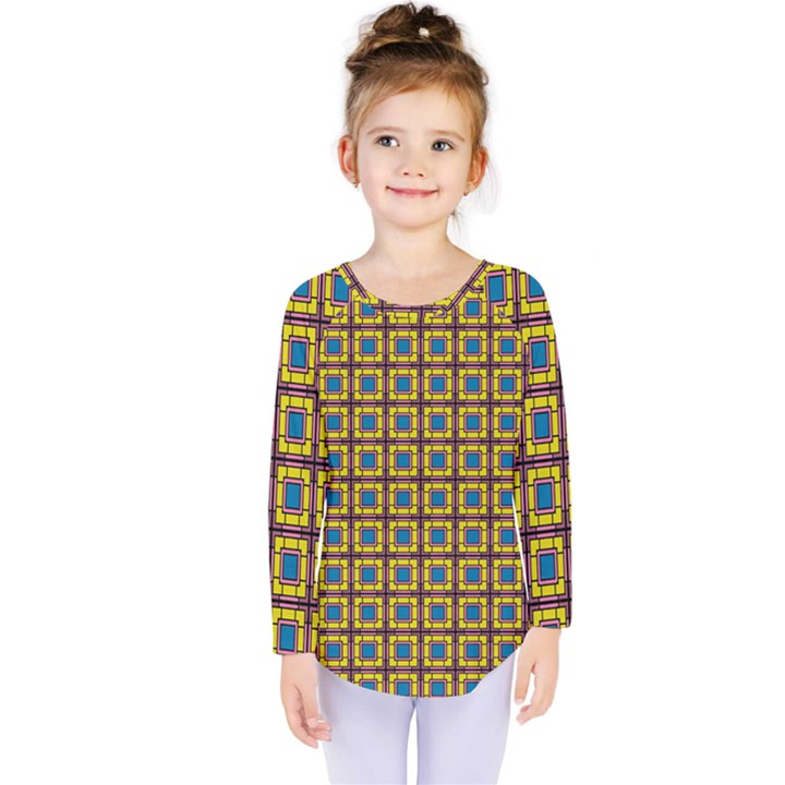 Montezuma Kids  Long Sleeve Tee