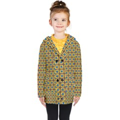 Montezuma Kids  Double Breasted Button Coat