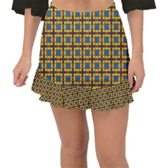 Montezuma Fishtail Mini Chiffon Skirt