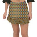 Montezuma Fishtail Mini Chiffon Skirt View1