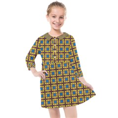 Montezuma Kids  Quarter Sleeve Shirt Dress by deformigo