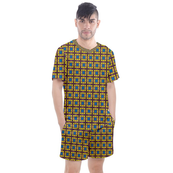 Montezuma Men s Mesh Tee and Shorts Set