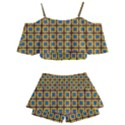 Montezuma Kids  Off Shoulder Skirt Bikini View2