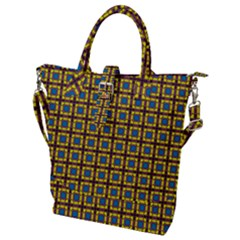 Montezuma Buckle Top Tote Bag
