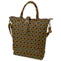 Montezuma Buckle Top Tote Bag View1