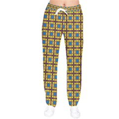 Montezuma Women Velvet Drawstring Pants by deformigo