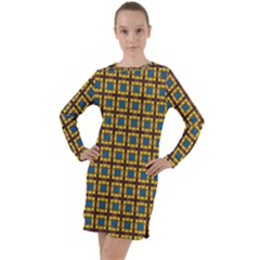 Montezuma Long Sleeve Hoodie Dress by deformigo
