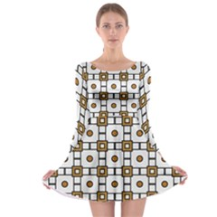 Peola Long Sleeve Skater Dress by deformigo