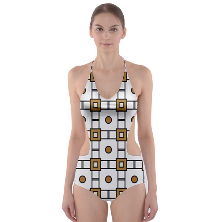 Peola Cut-Out One Piece Swimsuit